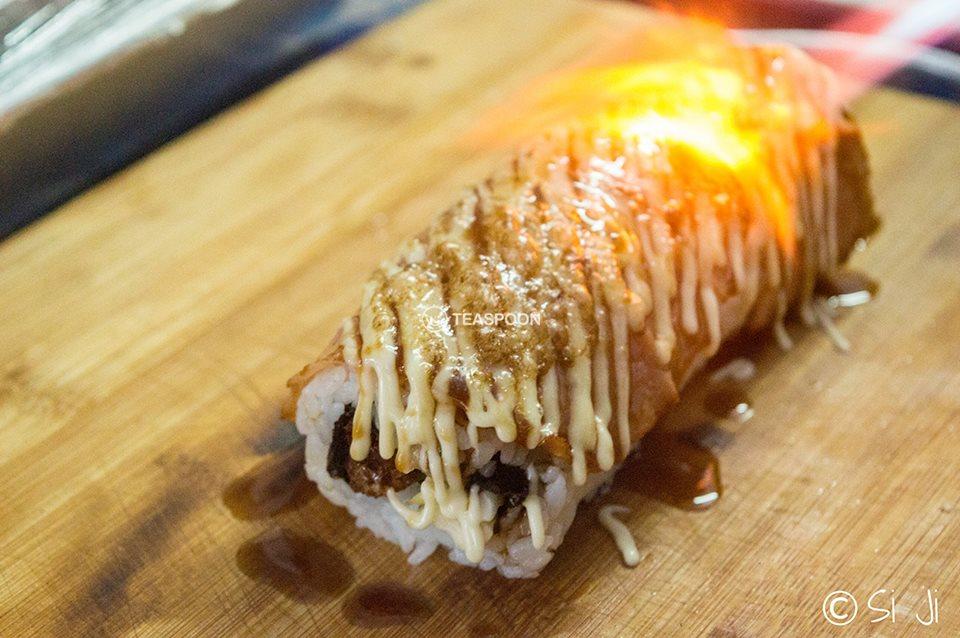 Bacon Sushi 15