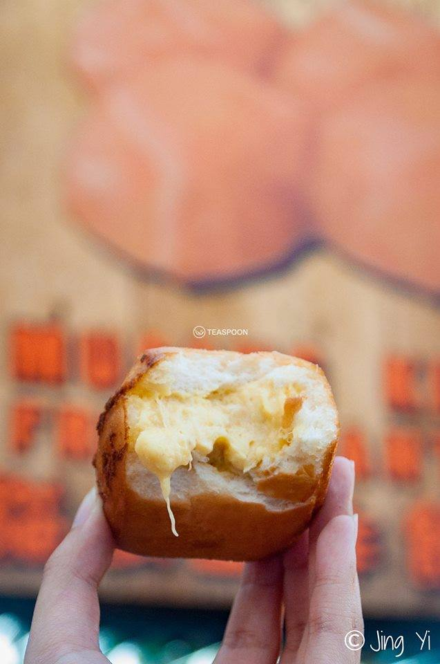 Musang King Mantou with CREAMY Durian Filling 2