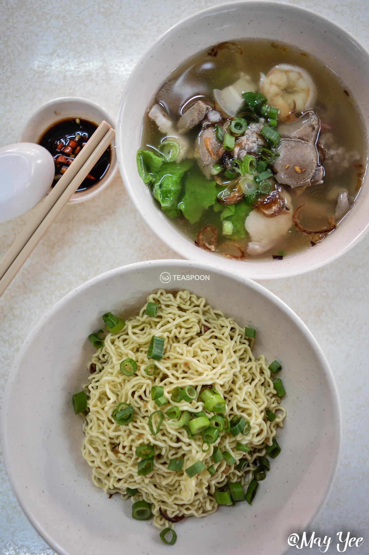 Mixed Soup Mee