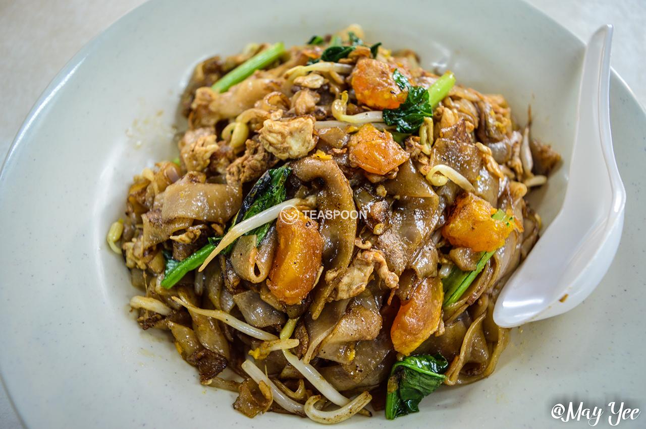 Salted Egg Char Kueh Tiaw