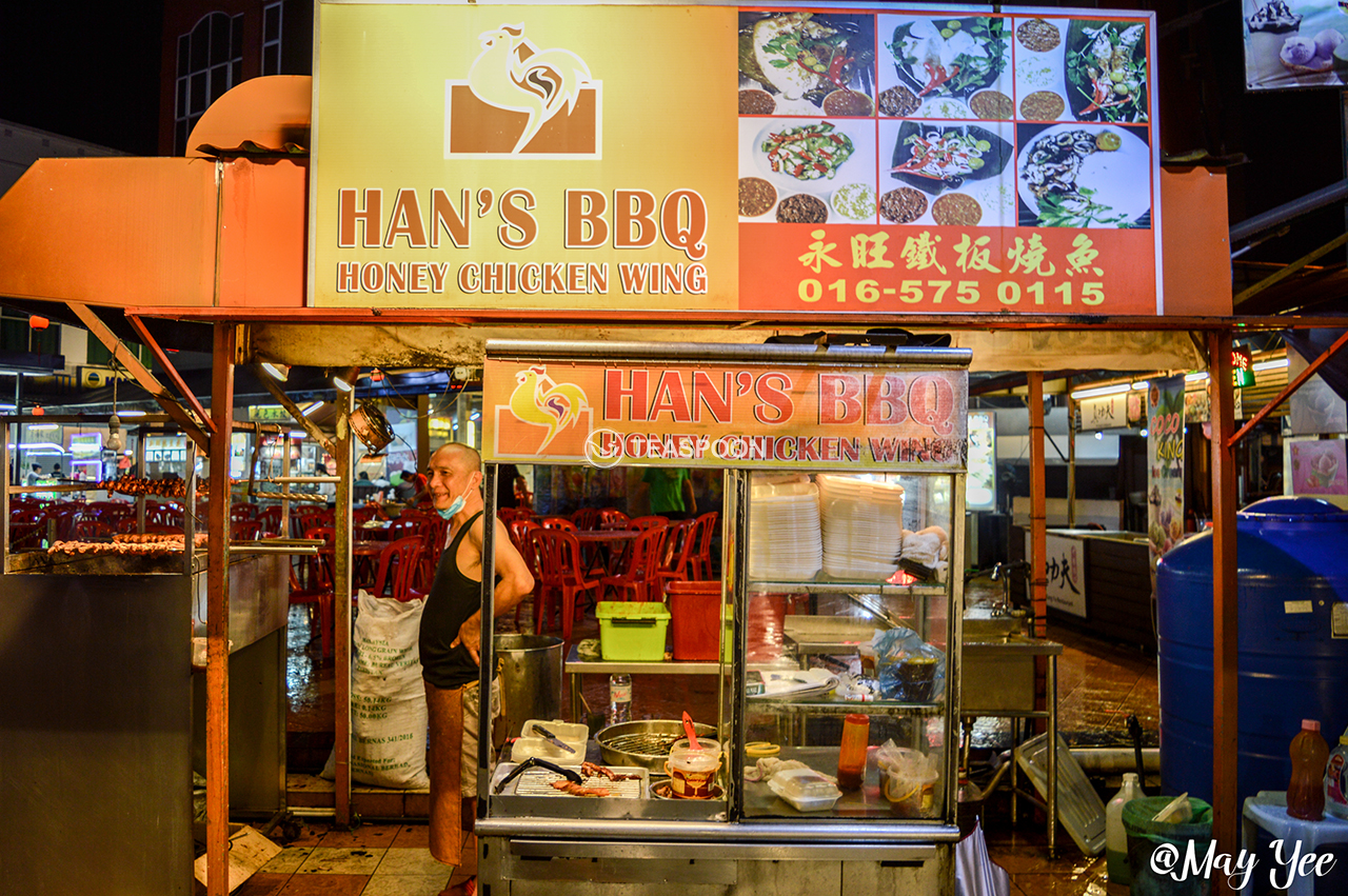 SUPPER 101 HANS BBQ CHICKEN WINGS STALL