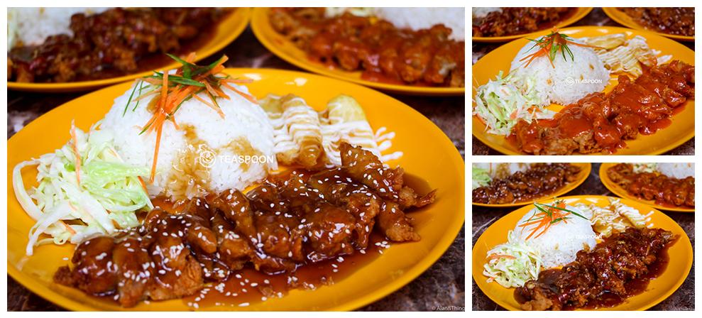 Kl chicken chop rice