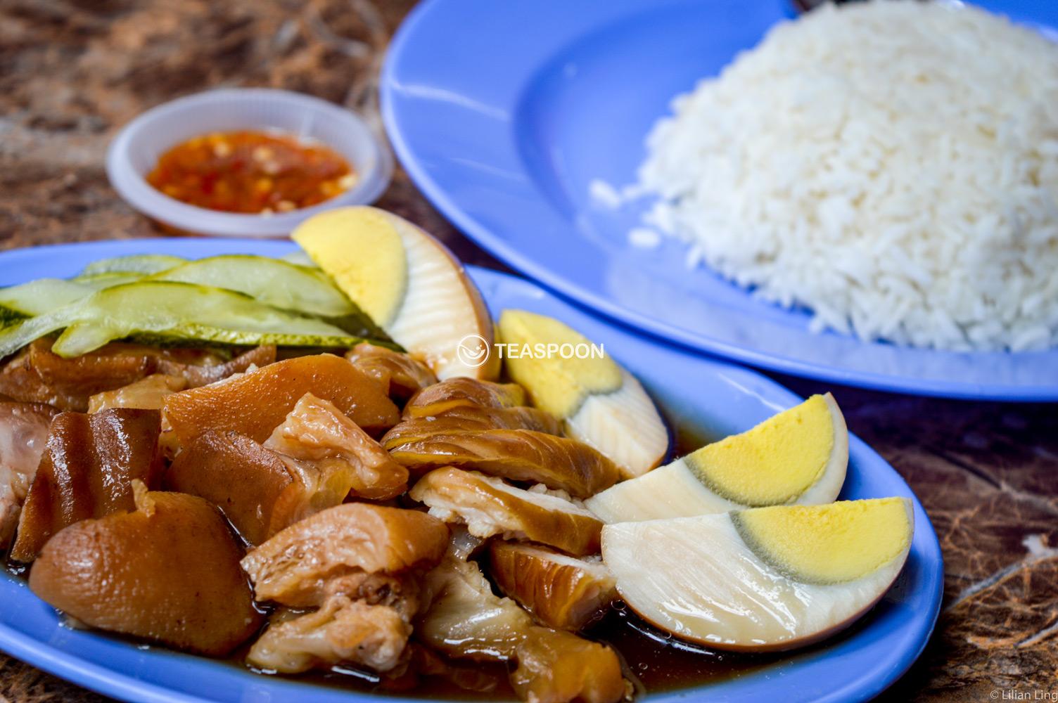 Kueh chap and pork leg rice (2)
