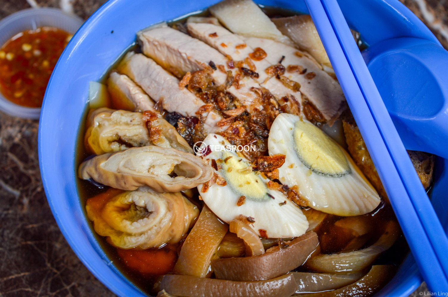 Kueh chap and pork leg rice (3)