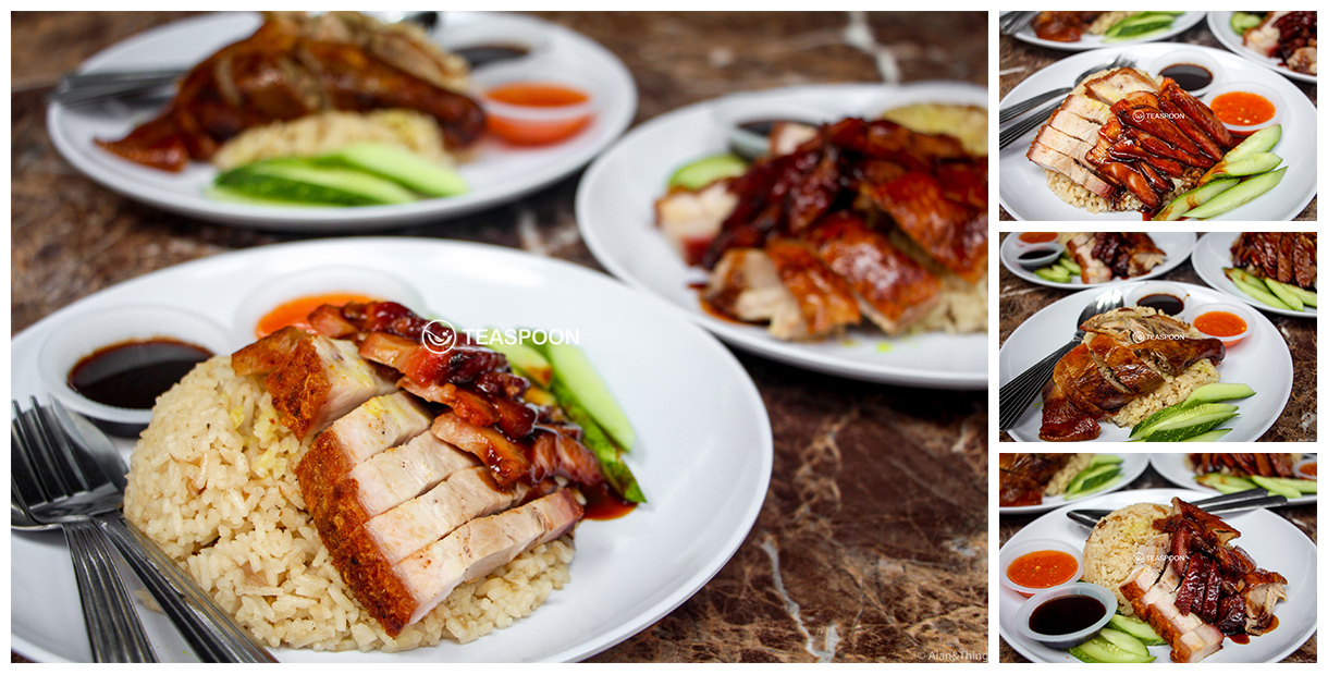 ipoh roasted chicken rice