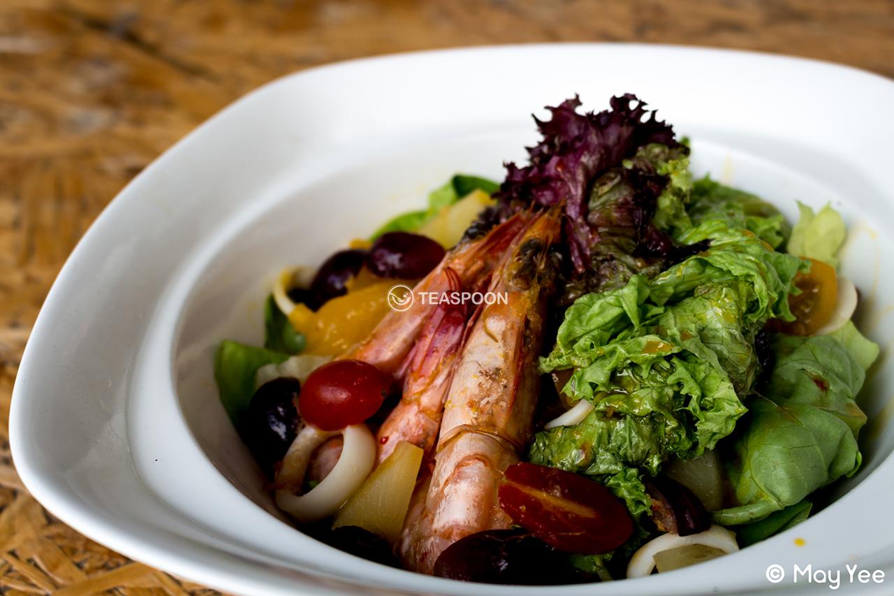 Seafruit Salad