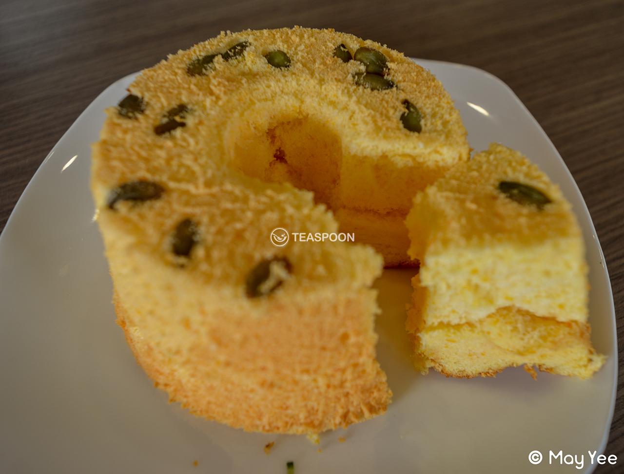 [Pumpkin Chiffon Cake]
