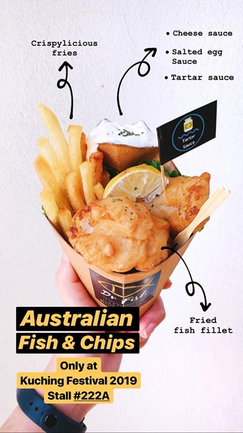 Australian Fish & Chips