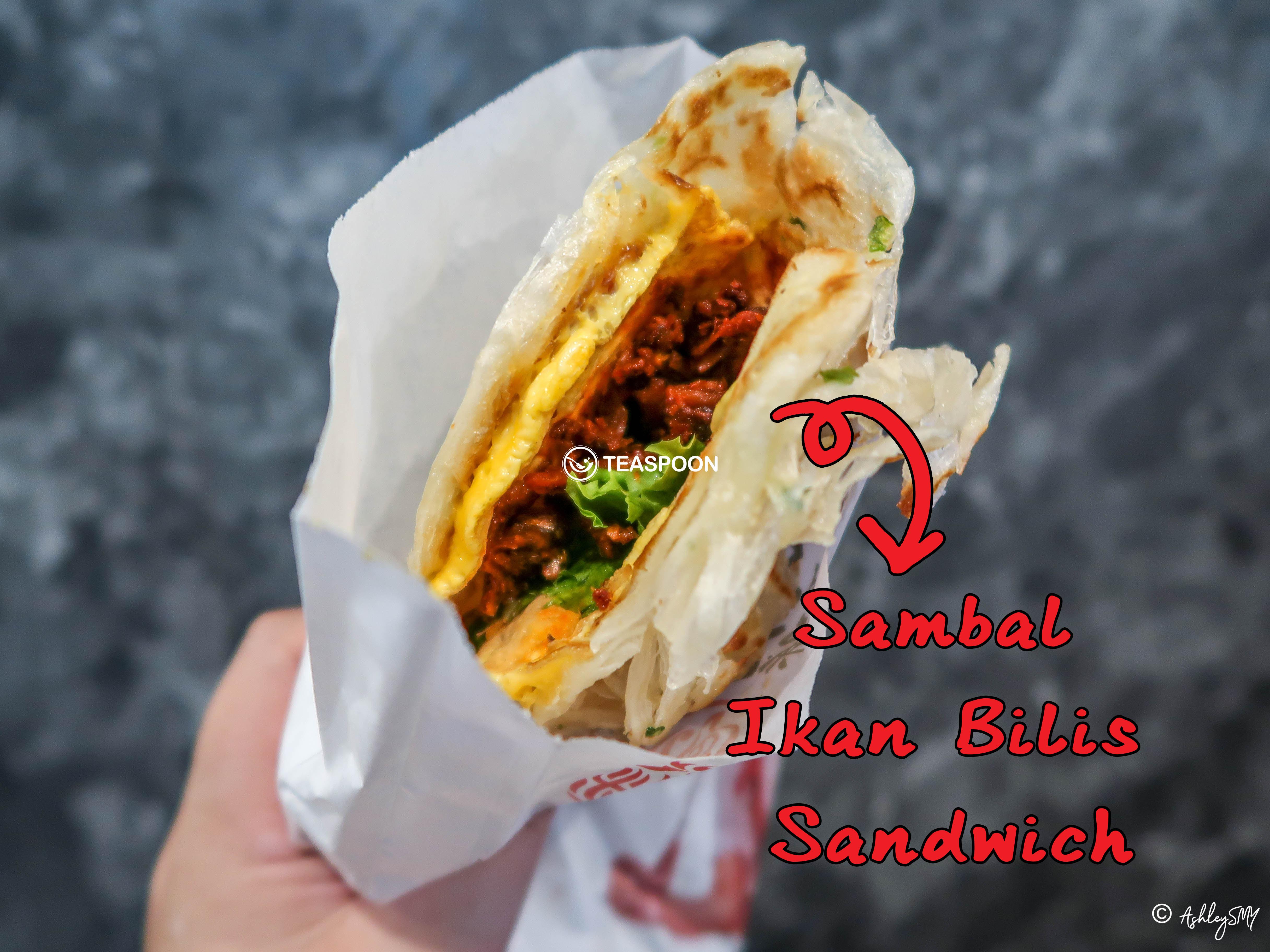 Sambal Ikan Bilis Sandwich