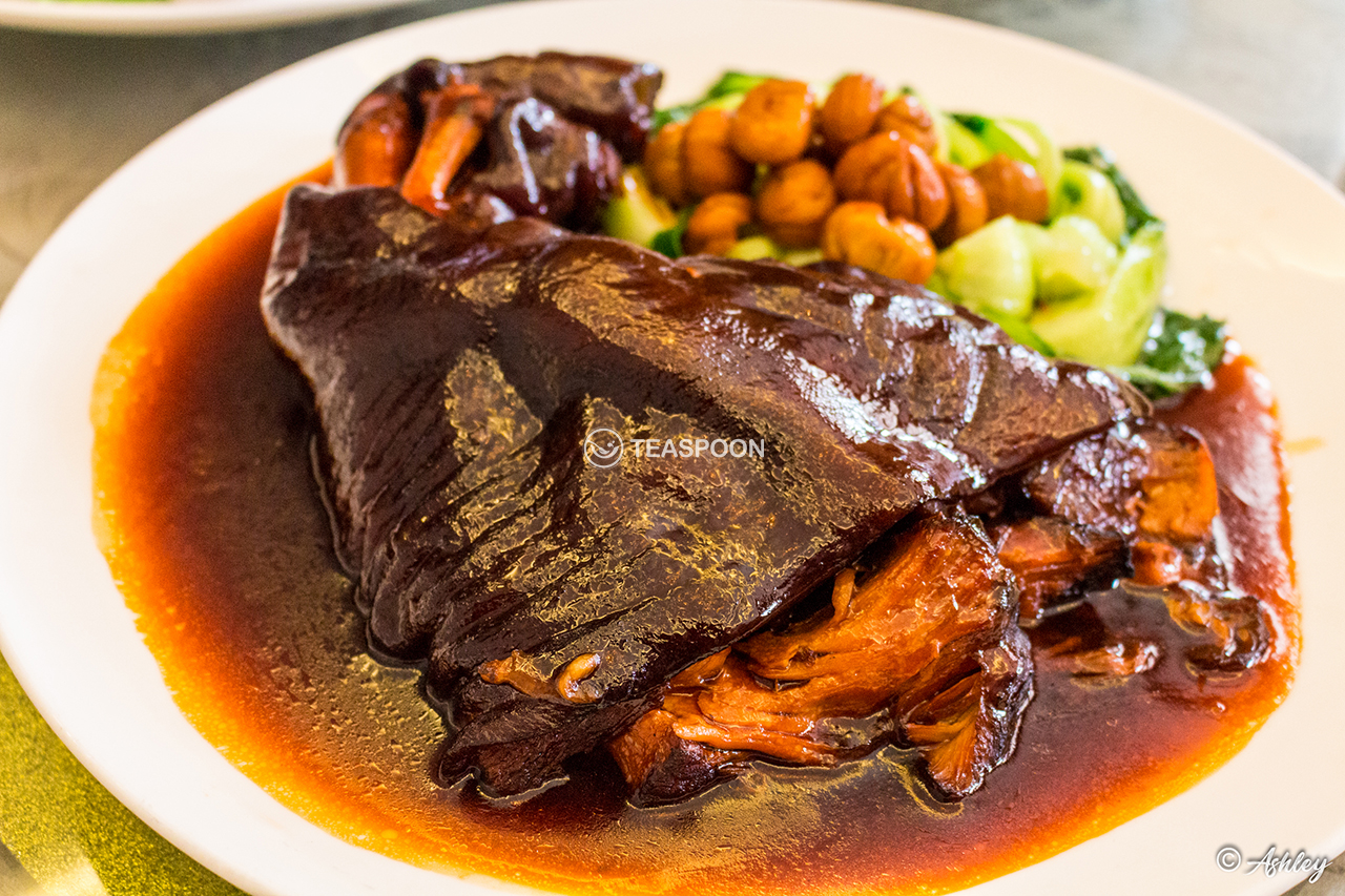 Chestnut Stewed Pork Leg