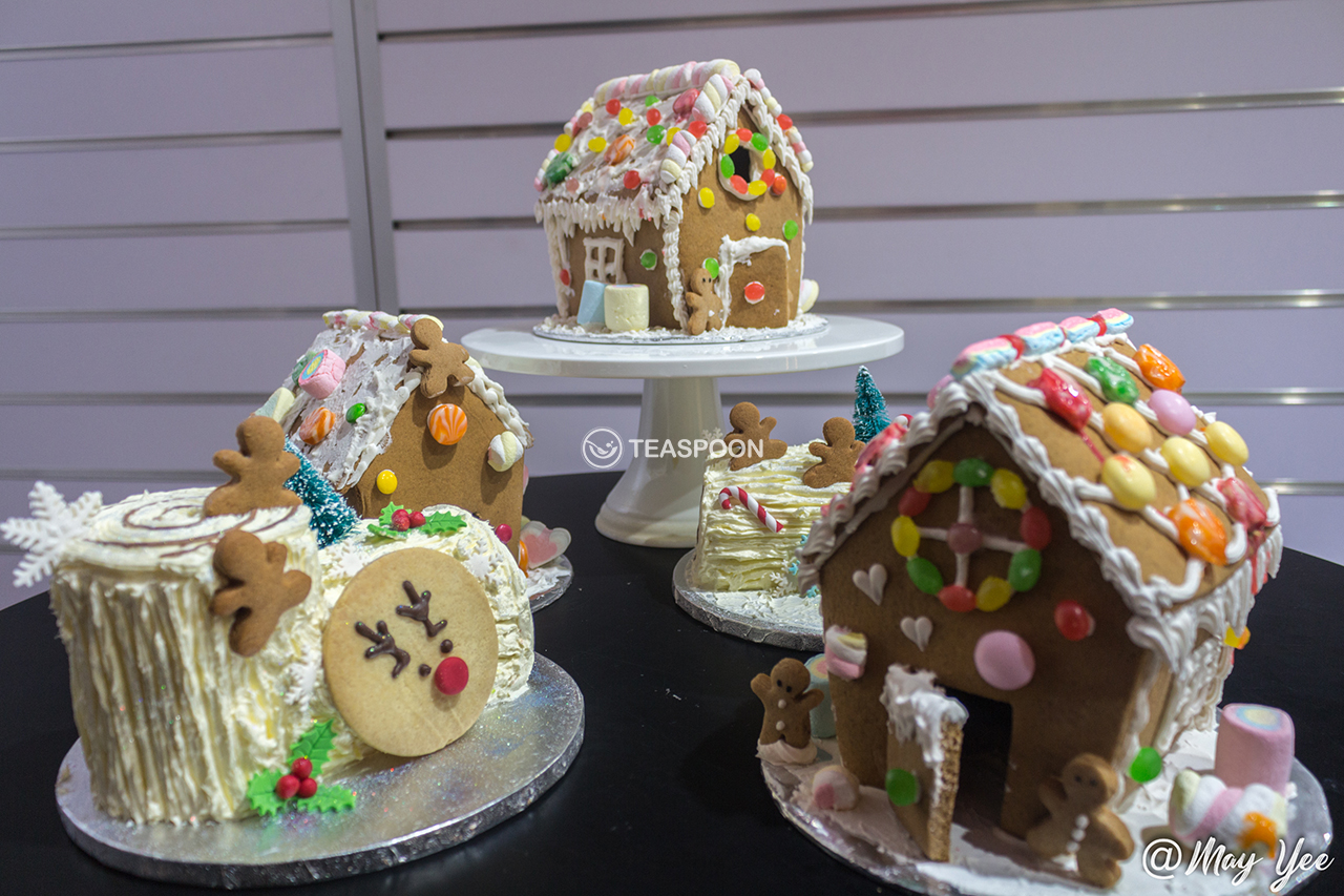 All Gingerbread Houses & Log Cakes (2)