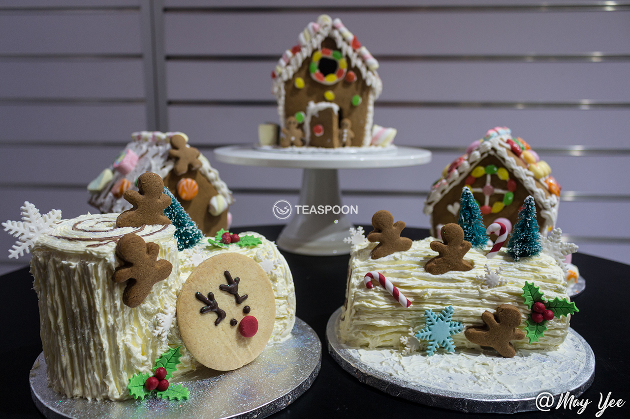 All Gingerbread Houses & Log Cakes