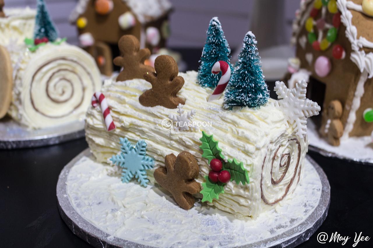Xmas log cakes 1