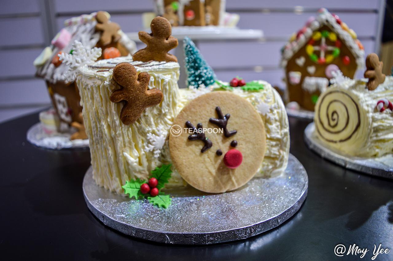 Xmas log cakes 2
