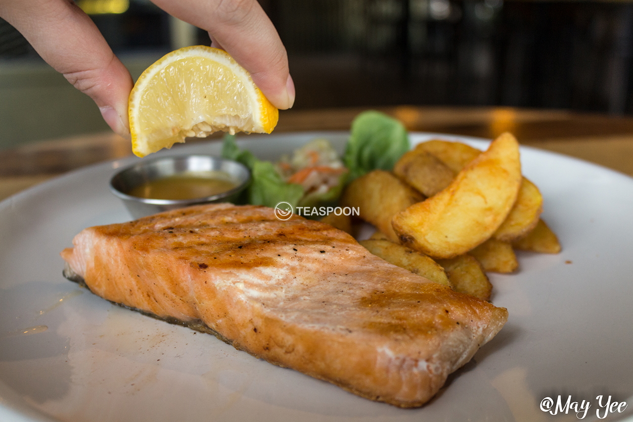 [Salmon Steak]
