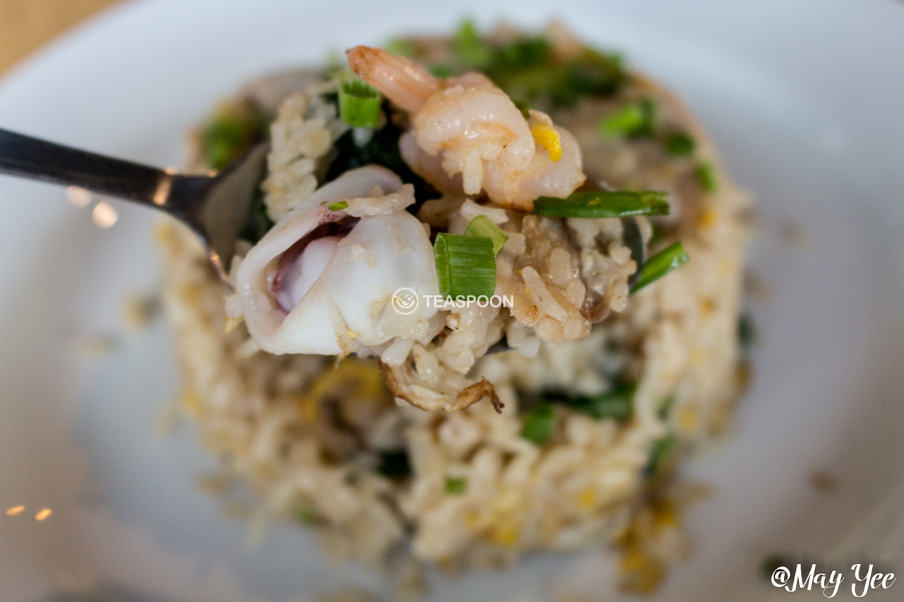 [Seafood Fried Rice]