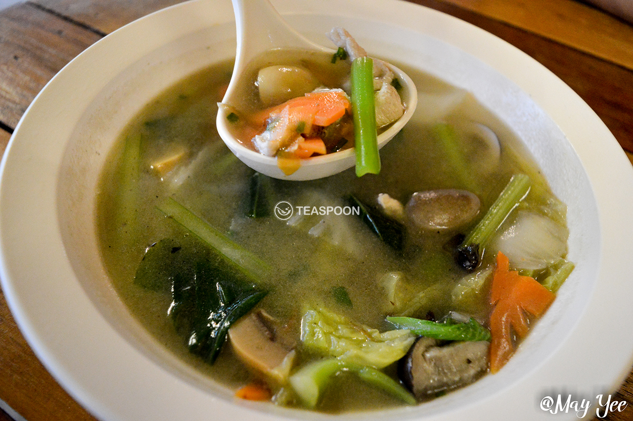 [Mixed Vegetables Soup]