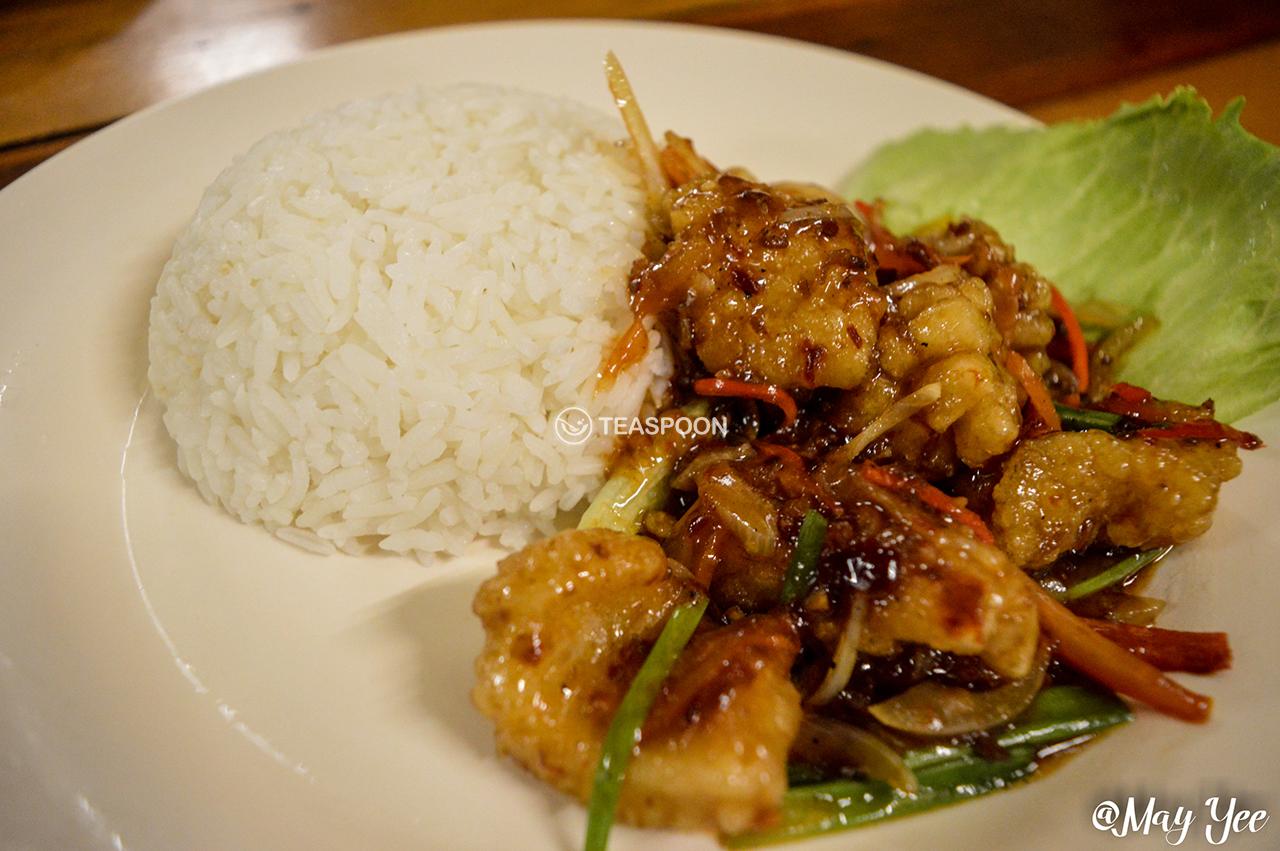 Sambal Sotong Rice
