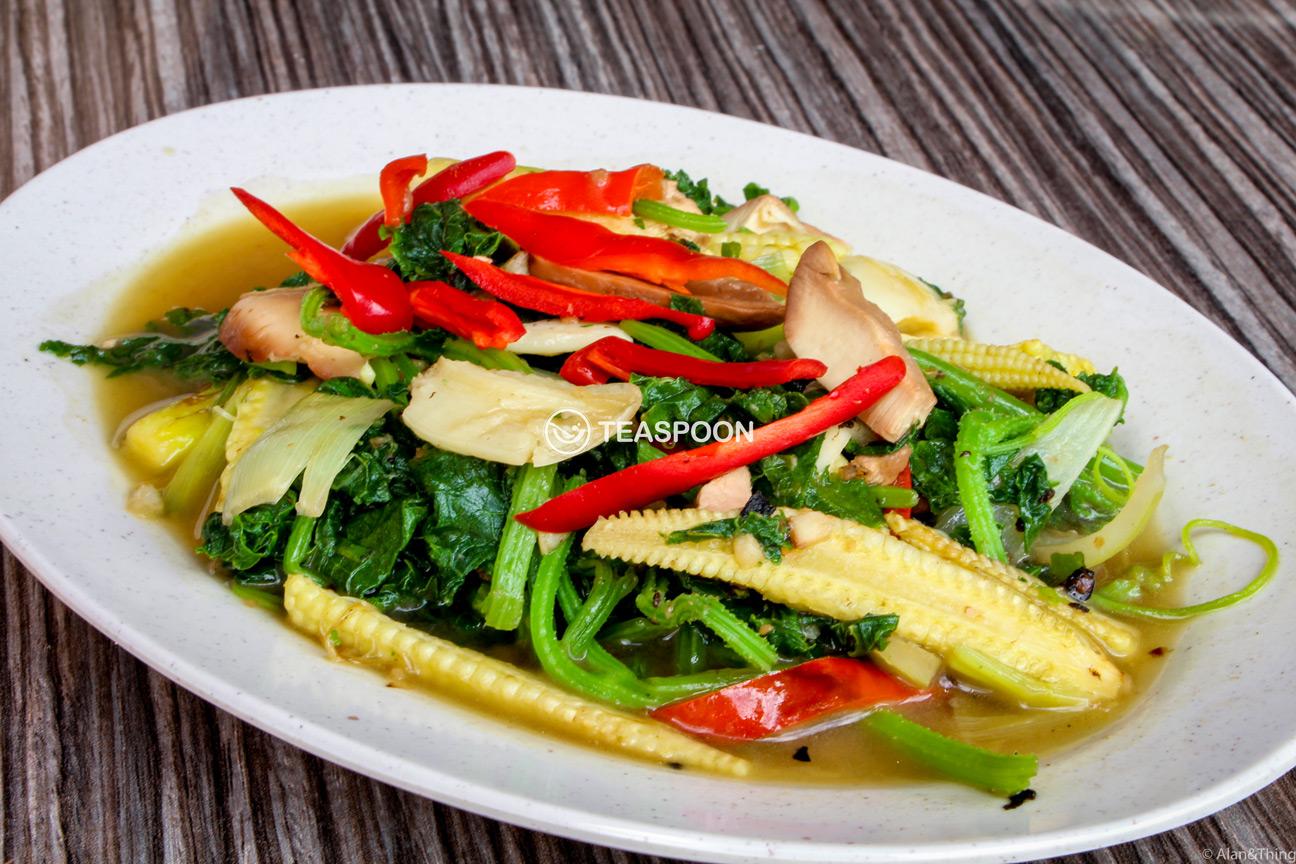 Cucumber Leaf Dayak Cuisine (1)