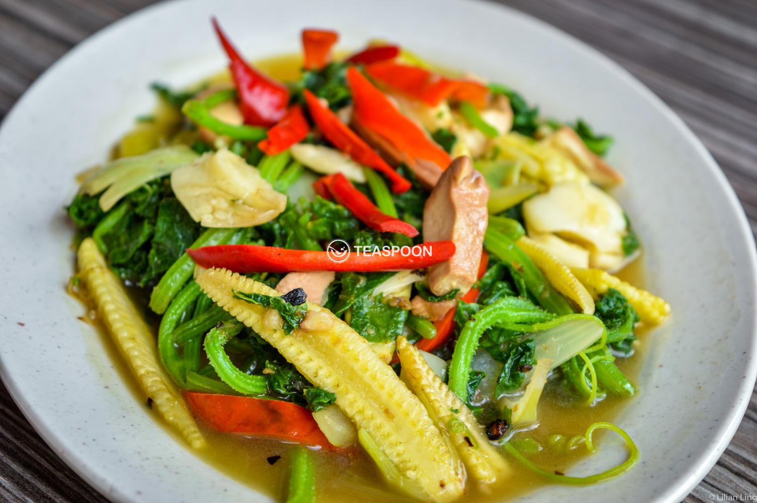 Cucumber Leaf Dayak Cuisine (2)