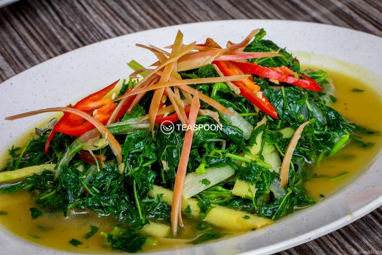 Tapioca Leaf Dayak Cuisine (2)