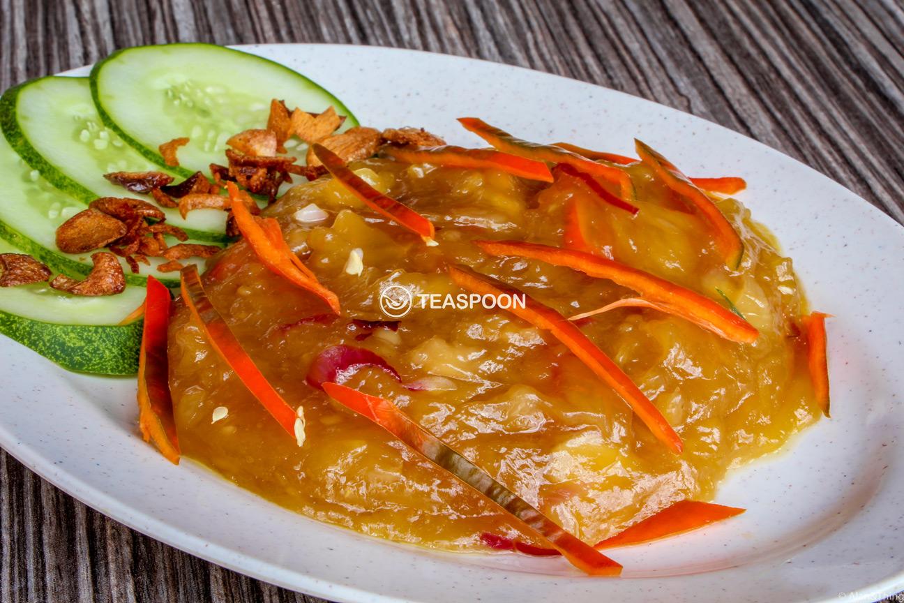 Tempoyak Durian Dayak Cuisine