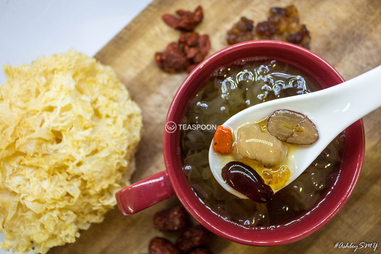 Peach Resin White Fungus & Red Dates Soup (2)