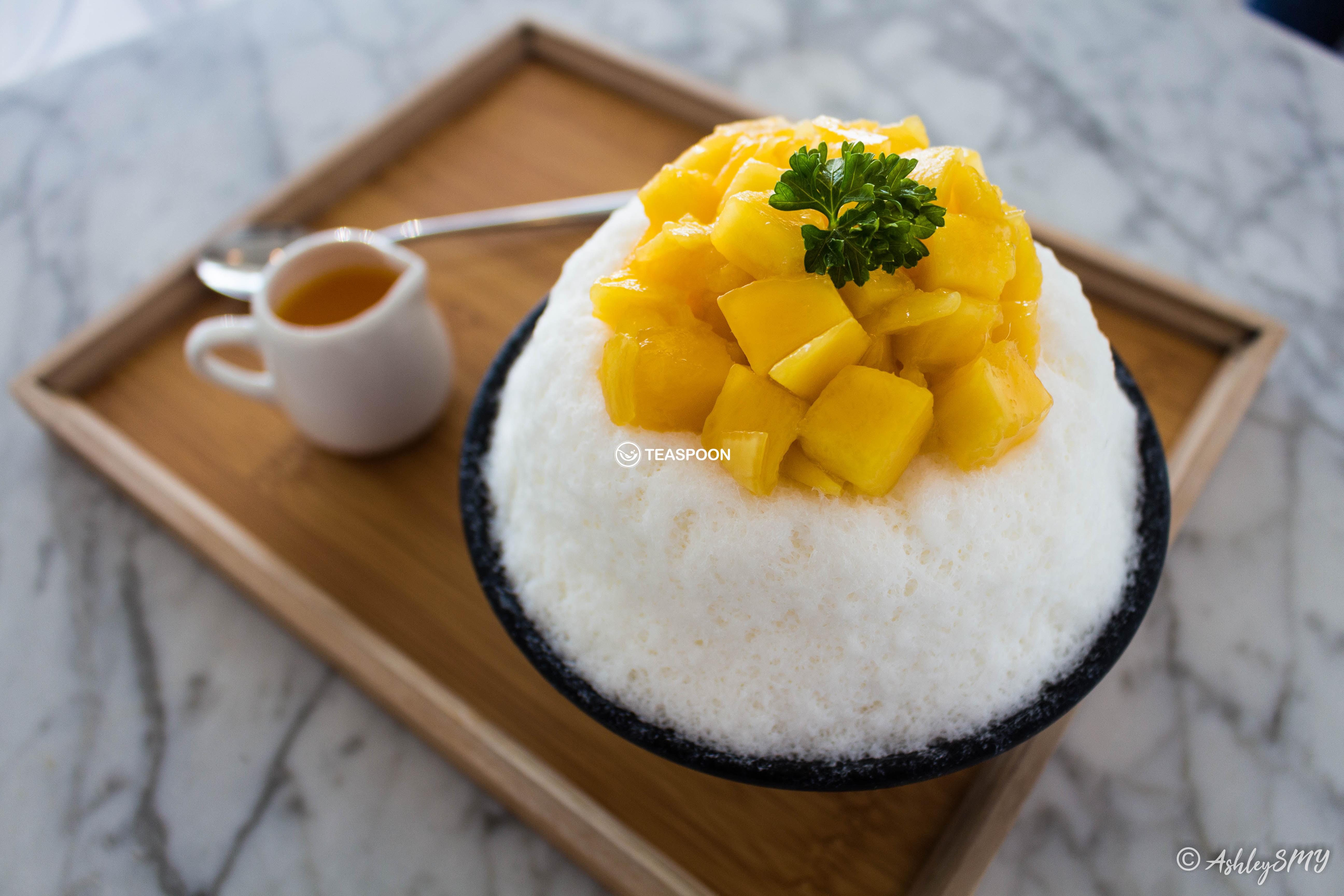 Mango Cheesecake Bingsu