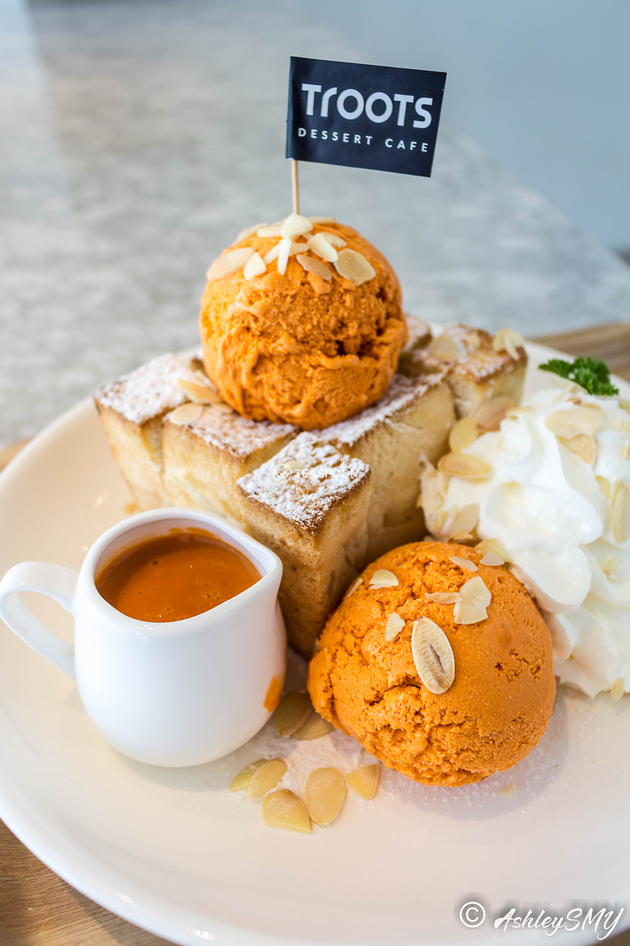 Thailand Thai Tea Toast