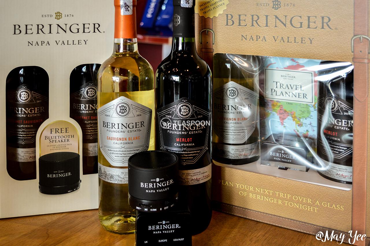 Beringer  Founders  Estate  Cabernet  Sauvignon,  Chardonnay and Merlot