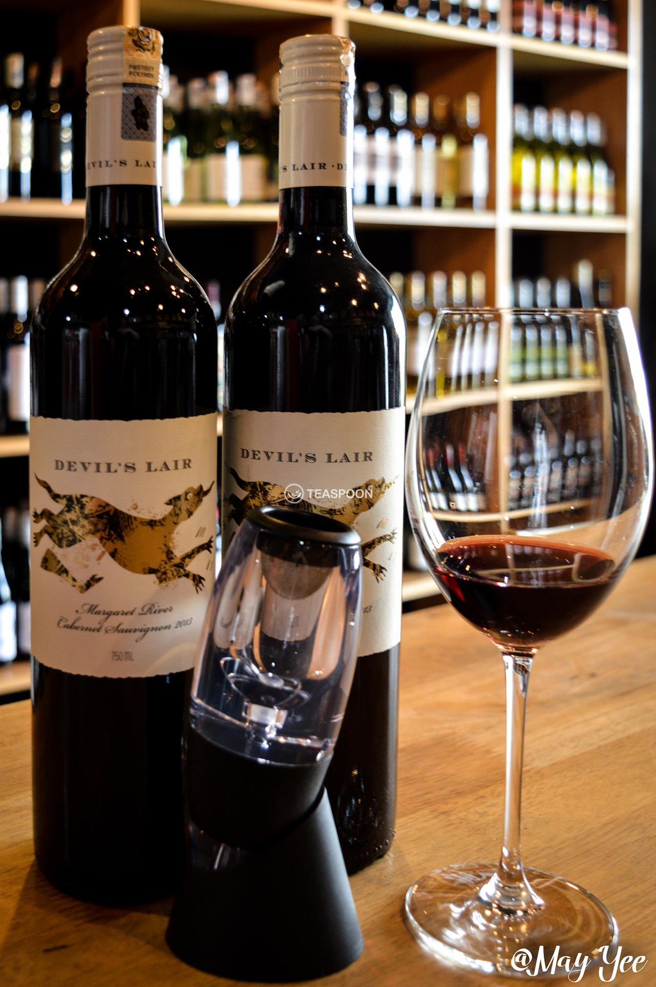Devils Lair Margaret River  Cabernet  Sauvignon and  Chardonnay DECANTER (6)