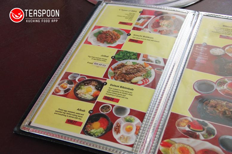 more foodie info only at teaspoon - Seoul Garden Menu